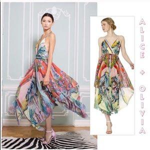 """Alice + Olivia """"Orly"""" Lady Lola maxi dress 8"""